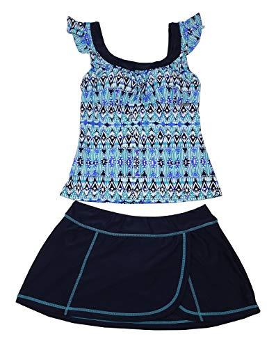 - ZeroXposur 2-Piece Womens Tankini Swimsuit (8, Cozumal)