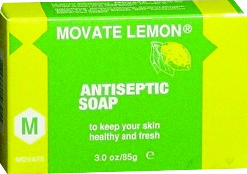 Movate Lemon Antiseptic Soap (Movate Carrot)