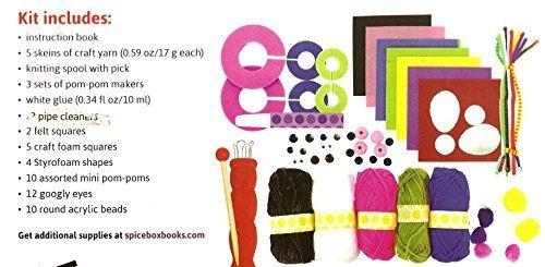 Yarn Animals Spool Knit & Pom-poms