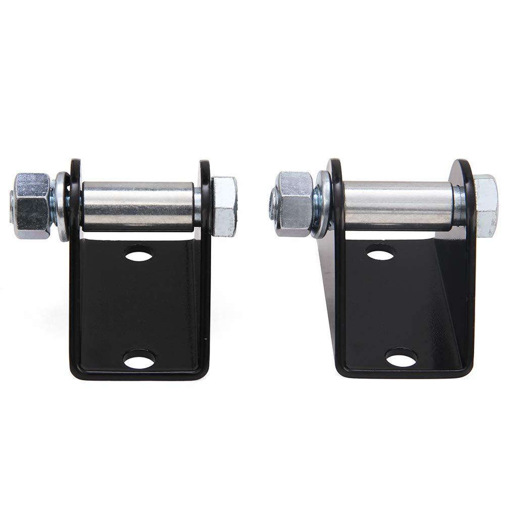 NIXFACE Front Lower Shock Bar Pin Eliminator Kit Fit for TJ//XJ//ZJ 1203700