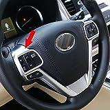 Fit for Toyota Highlander 2015 2016 2017 2018 Wheel Steering Trim Panel Cover Matte