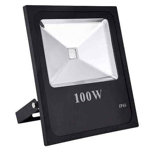 Ankishi 100W Exterior Iluminación, Foco Proyector Led, Floodlight ...