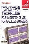 Le guide complet de l'analyse technique : Pour la gestion de vos portefeuilles boursiers par Clément