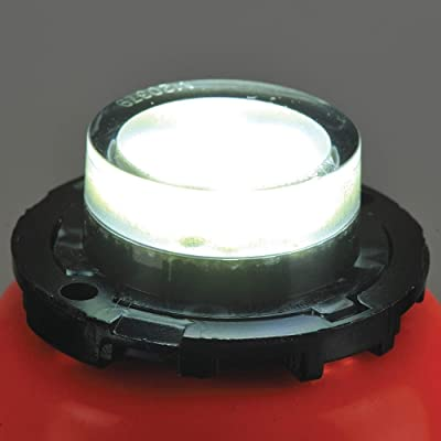 """Maxxima M20379WCL White 1.8"""" Round 6 LED Strobe Light with Clear Lens: Automotive"""