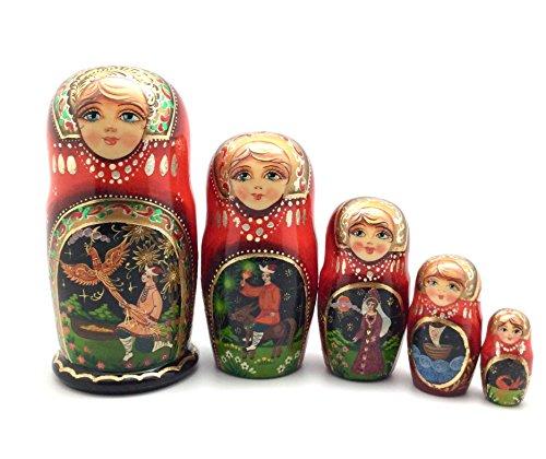 Unique Russian Nesting dolls Fairy Tale