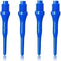 Olympoo - 500 Piezas de Dardos Profesionales Suaves Puntas de plástico para Diana electrónica - 2 BA Hilo pequeño…