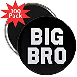 CafePress - Big Bro - 2.25'' Magnet (100 pack)