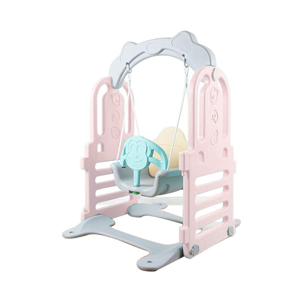 Wonder Space Indoor Toddler Swing Seat - Secure Swing Fun Playing Playpen Extention, Suitable for Wonder Space Playpen, Perfect for Infants and Babies (Blue)