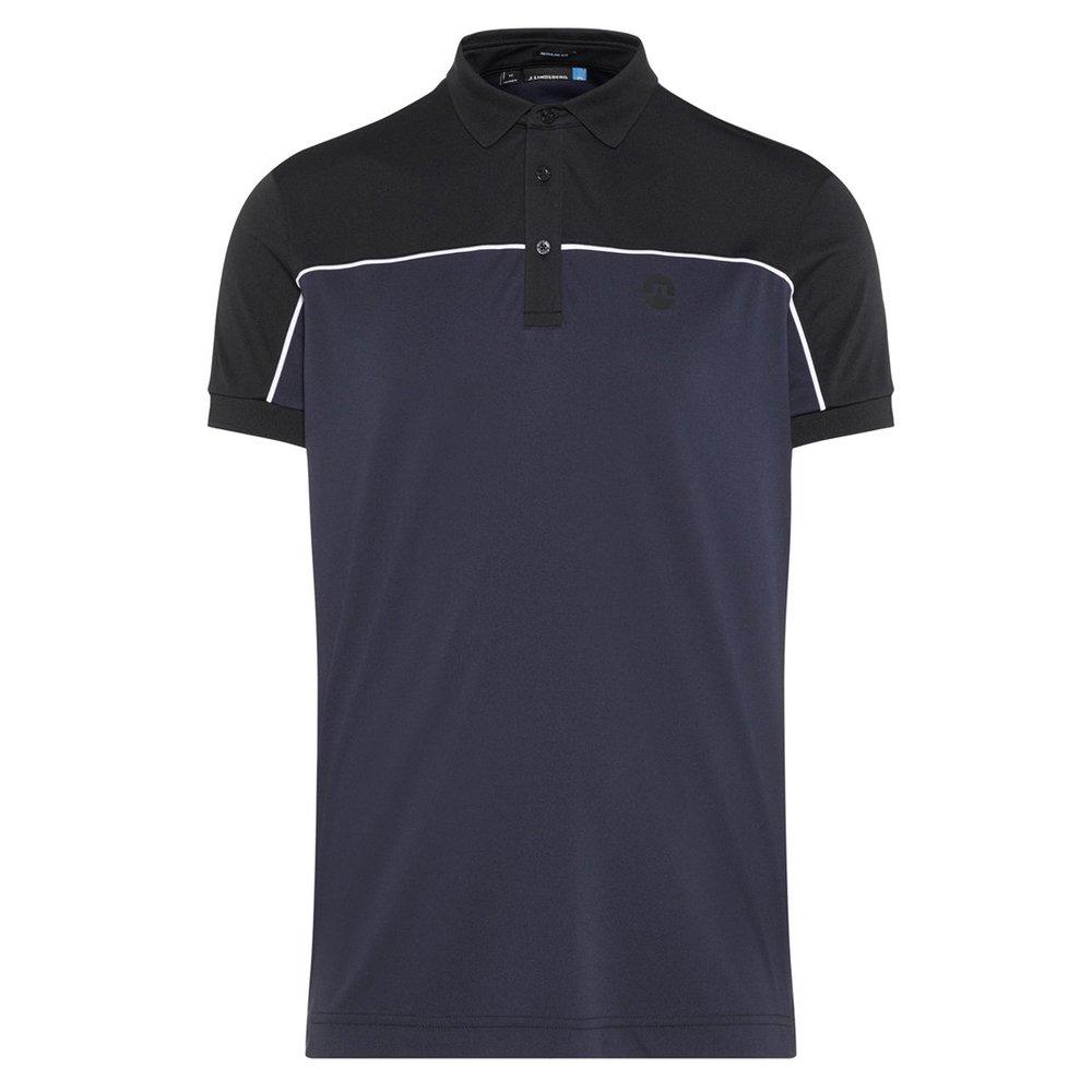 Jリンドバーグ マテオ レギュラー TX ジャージー 半袖ポロシャツ Medium ネイビー B079C1XKHS