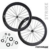 reynolds wheels - Reynolds Cycling Strike Disc Brake Carbon Fiber Wheelset for Road Bikes, Shimano Compatible