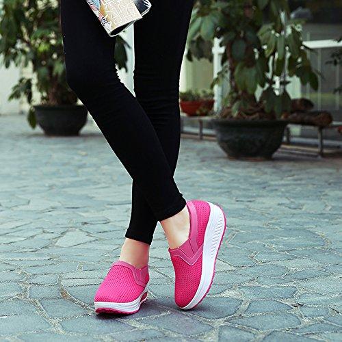Roja Greaten Mujer Zapatillas para Rosa SHqpfC