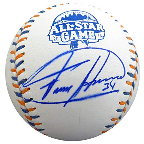 - Felix Hernandez Autographed Signed Memorabilia Official 2013 All Star Game Baseball Seattle Mariners MLB Holo #Ek677365 - Certified Authentic