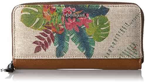 Desigual Zip Around Tropical Fly Wallet