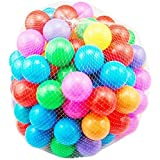 LILY 200Pcs Colorful Soft Plastic Ocean Fun Ball Balls Baby Kids Tent Swim Pit Toys Game Gift 2.76