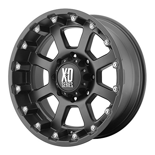 XD Series by KMC Wheels XD807 Strike Matte Black Wheel (20x10''/6x139.7mm, -24mm offset) by XD Series by KMC Wheels