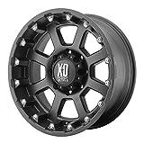 "XD Series by KMC Wheels XD807 Strike Matte Black Wheel (18x10""/5x150mm, -24mm offset)"