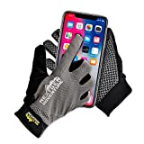Mountain Bike Touchscreen Cycling Gloves – Full Finger Mtn Biking Glove, Breathable with Screen Wiping Pad, iPhone or Android Touchscreeen Capable, Bike Riding Training Gloves for Men Women (Small) Review