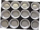 Silver Aluminum Foil Tart Pan