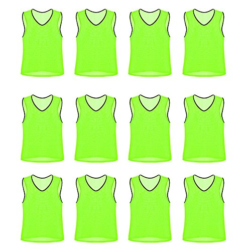 Nylon Mesh Scrimmage Team Practice Vests Pinnies Jerseys for Children Youth Sports (Argentina Adult Soccer Jersey)