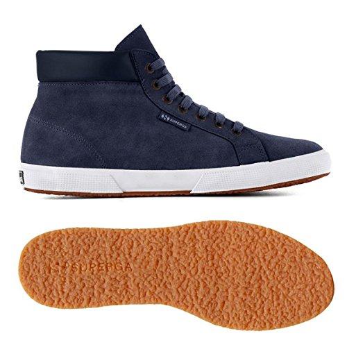 Uomo Sneaker suem 2204 Blue Superga qf16YnOn