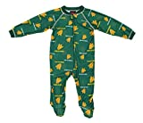 Outerstuff Oregon Ducks NCAA Baby Boys Raglan Zip-up Coverall Sleeper, Green