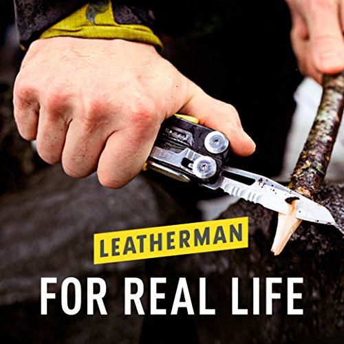 Leatherman Premium Leather Sheath with Pockets, Fits 4.5