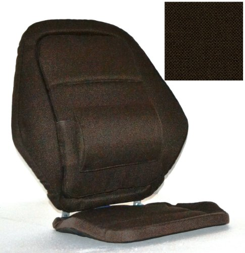 Deluxe Back Rest Finish: Brown by McCarty's