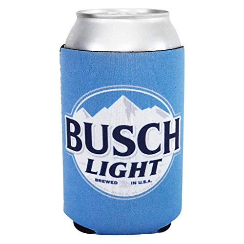 Busch Light Logo Neoprene Can Cooler Holder