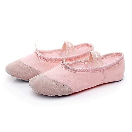 Chengxin Zapatos de Ballet Parte Inferior Suave Zapatos de ...