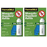 Thermacell Mosquito Repellent 2 Refill Packs for Repellers, Torch and Lanterns (2-Pack: 24 Hours Protection)
