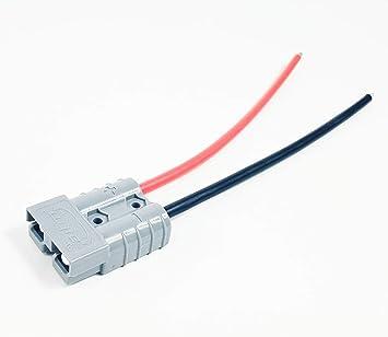 Cable de conexión Powerpole Gris, Conector para Scooter, Bicicleta ...