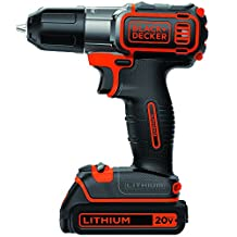 BLACK + DECKER BDCDE120C 20V Max Lithium Drill/Driver with Autosense Technology