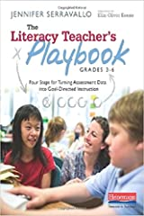 The Literacy Teacher's Playbook, Grades 3-6: Four Steps for Turning Assessment Data into Goal-Directed Instruction Paperback