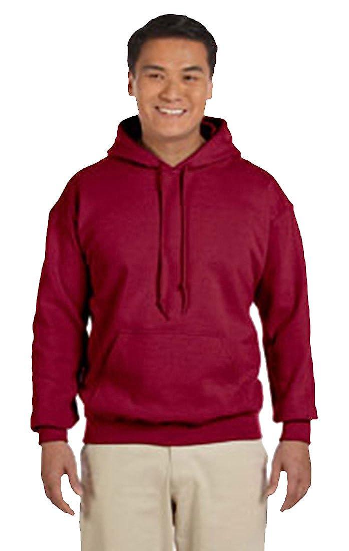 d7e2626985a Gildan Men s Heavy Blend Fleece Hooded Sweatshirt G18500 at Amazon Men s  Clothing store