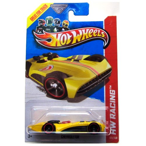 Hot Wheels HW Racing 123/250 Chevroletor Yellow
