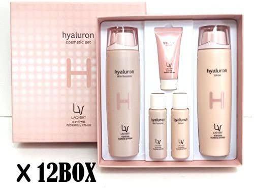 [Lacvert] LV ヒアルロン化粧品 2pcs(5item)set (8BOX) / LV Hyaluron Cosmetic 2pcs(5item)set (8BOX) / 湿気、弾力/moisture, elasticity/韓国化粧品/Korean Cosmetics [並行輸入品]