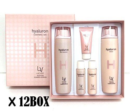 [Lacvert] LV ヒアルロン化粧品 2pcs(5item) set (8BOX)/LV Hyaluron Cosmetic 2pcs(5item) set (8BOX)/湿気、弾力/moisture, elasticity/韓国化粧品/Korean Cosmetics [並行輸入品] B07F1V55RQ