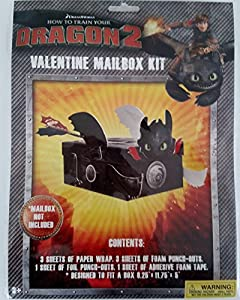Amazon how to train your dragon 2 toothless valentine mail how to train your dragon 2 toothless valentine mail box kit mail box not included ccuart Choice Image