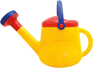 Spielstabil Classic Yellow Watering Can - with 2 Handles for Ages 18 Months and Up - Holds 1 Liter (Made in Germany)