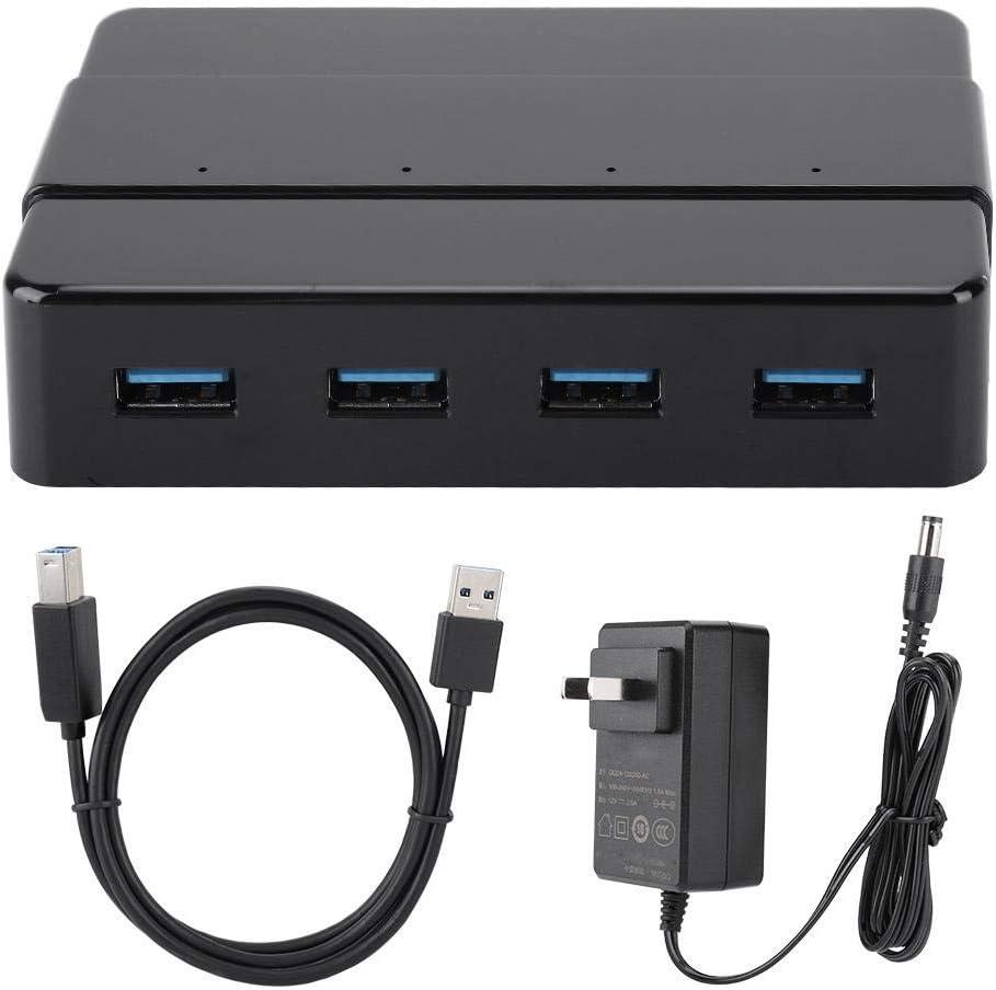 Data Transmission Board Hub with 4 USB3.0 Expansion Ports for Windows//Linux//MAC OS 100-240V fosa H4928-U3 USB Hub 5Gbps Multi-Interface Splitter