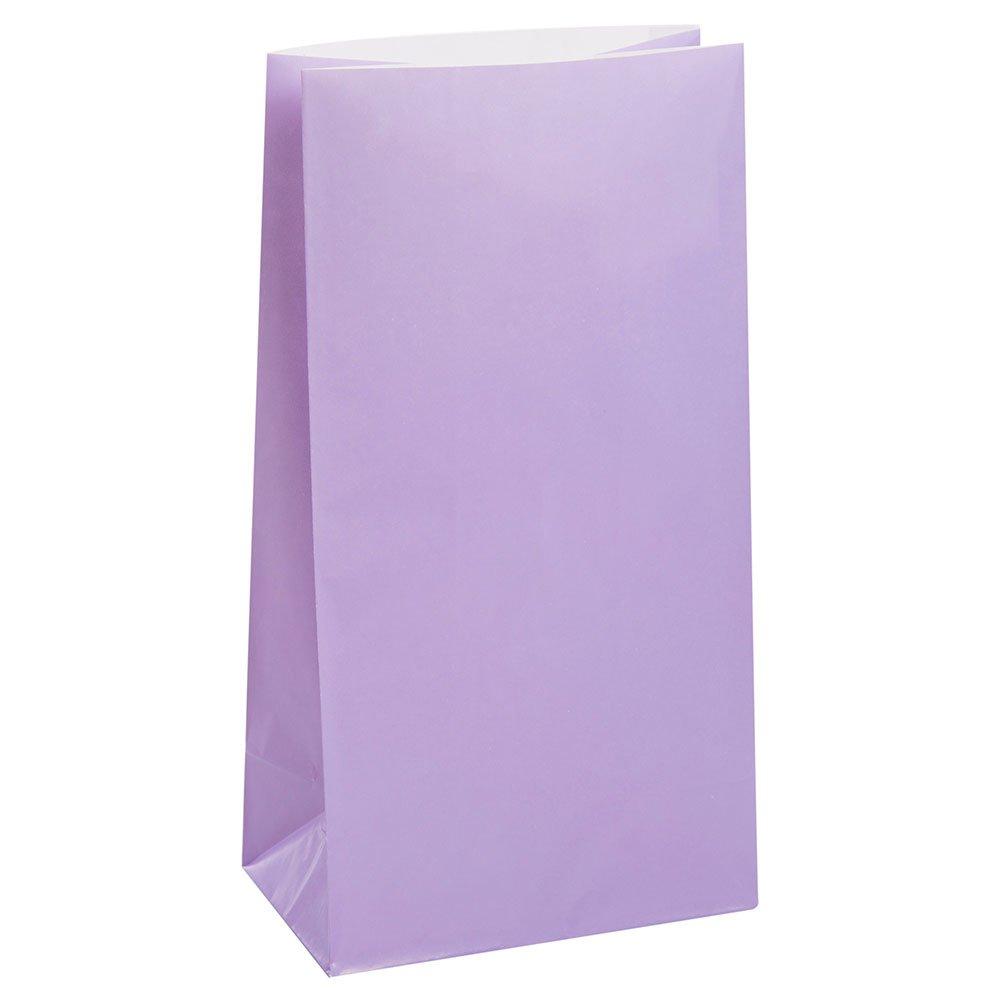 Black Paper Party Favor Bags 12ct