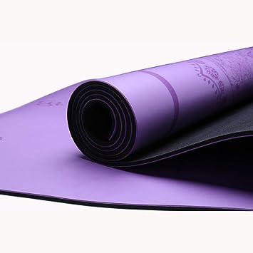 HZBLL Yoga Mat Yoga Mat Antideslizante Antideslizante del ...