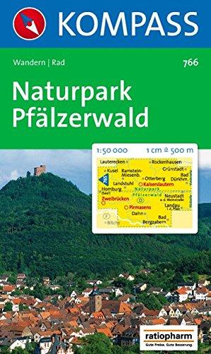 Naturpark Pfälzerwald: Wandern / Rad. 1:50.000
