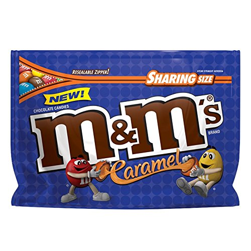 M&M'S Caramel Chocolate Candy Sharing Size 9.6-Ounce Bag]()