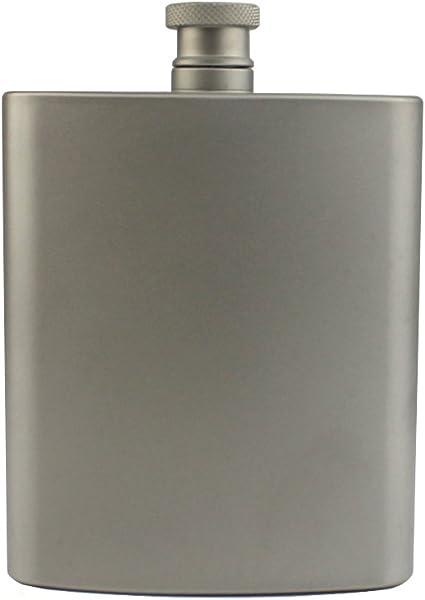 Titanium Hip Flask 7 oZ