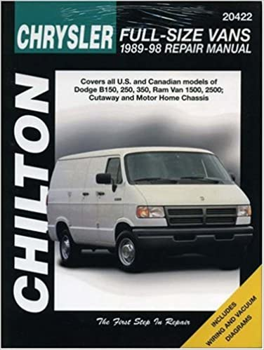 Dodge vans 1989 98 chilton total car care series manuals chilton dodge vans 1989 98 chilton total car care series manuals 1st edition fandeluxe Gallery