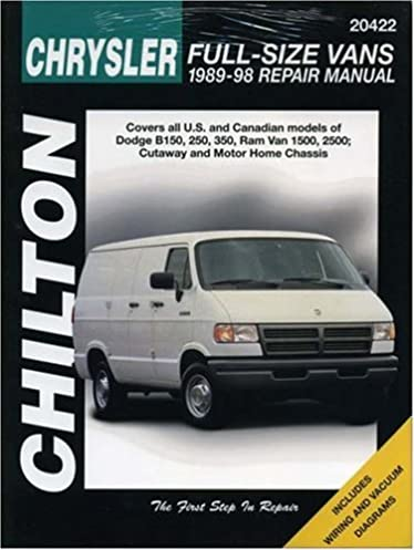 dodge vans 1989 98 chilton total car care series manuals chilton rh amazon com 1998 Dodge Ram 2500 Diesel 1998 Dodge Ram 2500 Diesel