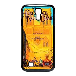 Generic for Samsung Galaxy S4 9500 Cell Phone Case Black The Hunchback of Notre Custom HLFDKFFKD3064