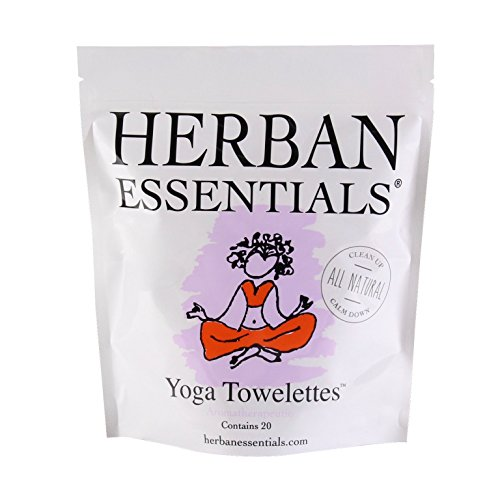 (Herban Essentials Towelettes - Yoga)