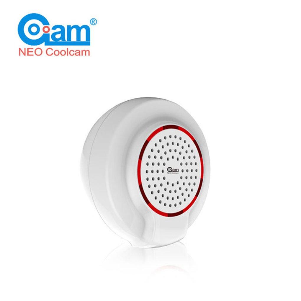 NEO Coolcam NAS-PD02Z Sirena Inalámbrica alarma Sensor Compatible con la alarma de onda Z alarma del sensor no Domótica Seguridad Regard: Amazon.es: ...
